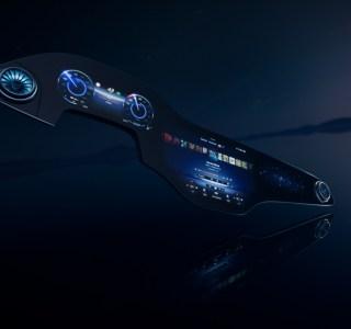 Mercedes EQS: découvrez son gigantesque écran incurvé boosté à l'intelligence artificielle