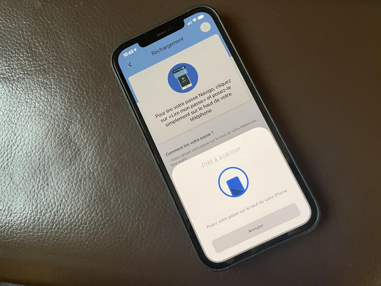 Vous pouvez enfin recharger votre pass Navigo sur iPhone