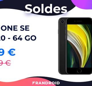 Pour les soldes Cdiscount, l'iPhone SE 2020 passe de 489 à 419 euros