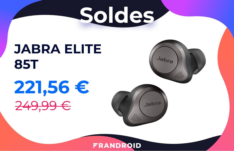 Les nouveaux écouteurs sans fil Jabra Elite 85T sont déjà en promotion pour les soldes