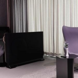 LG veut ajouter un téléviseur OLED transparent au bout de votre lit