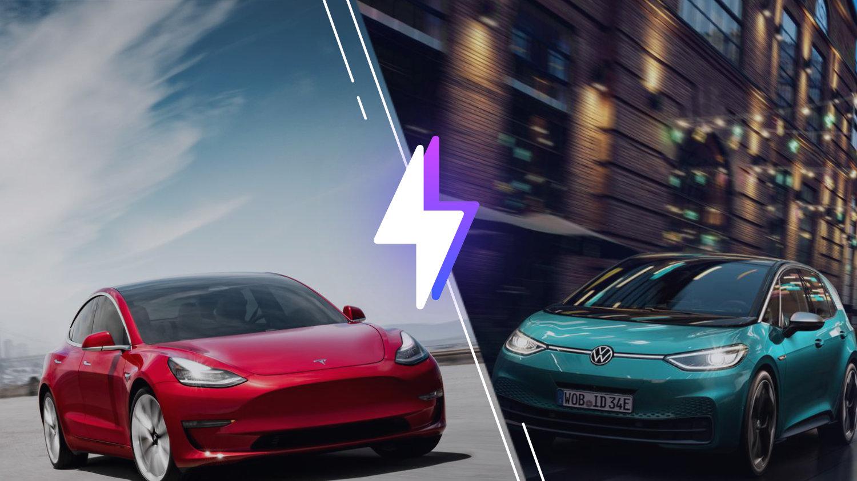 Tesla Model3 vs VolkswagenID.3: laquelle est la meilleure voiture électrique?