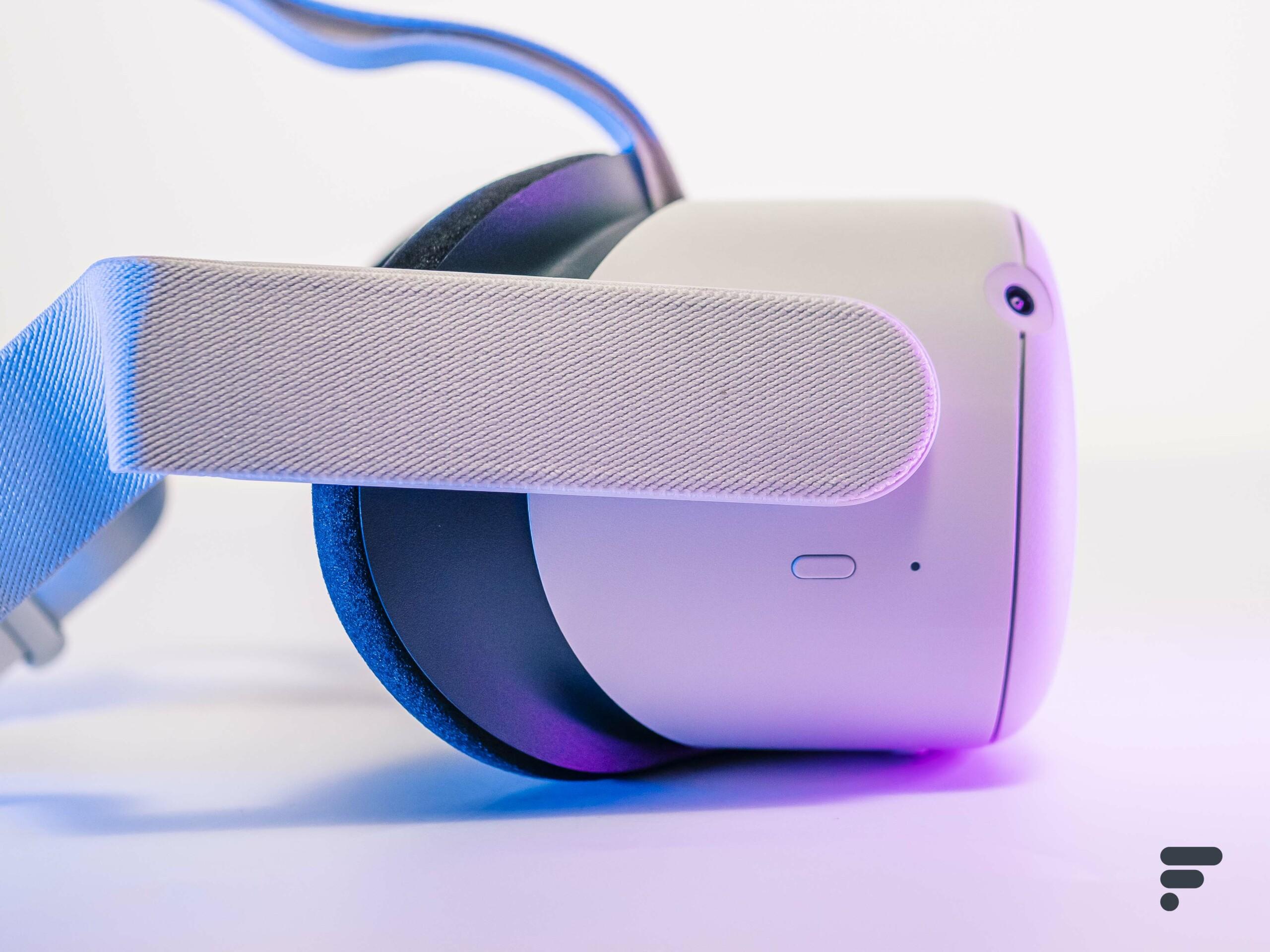 L'Oculus Quest 2 est de retour au même prix, mais avec deux fois plus de stockage
