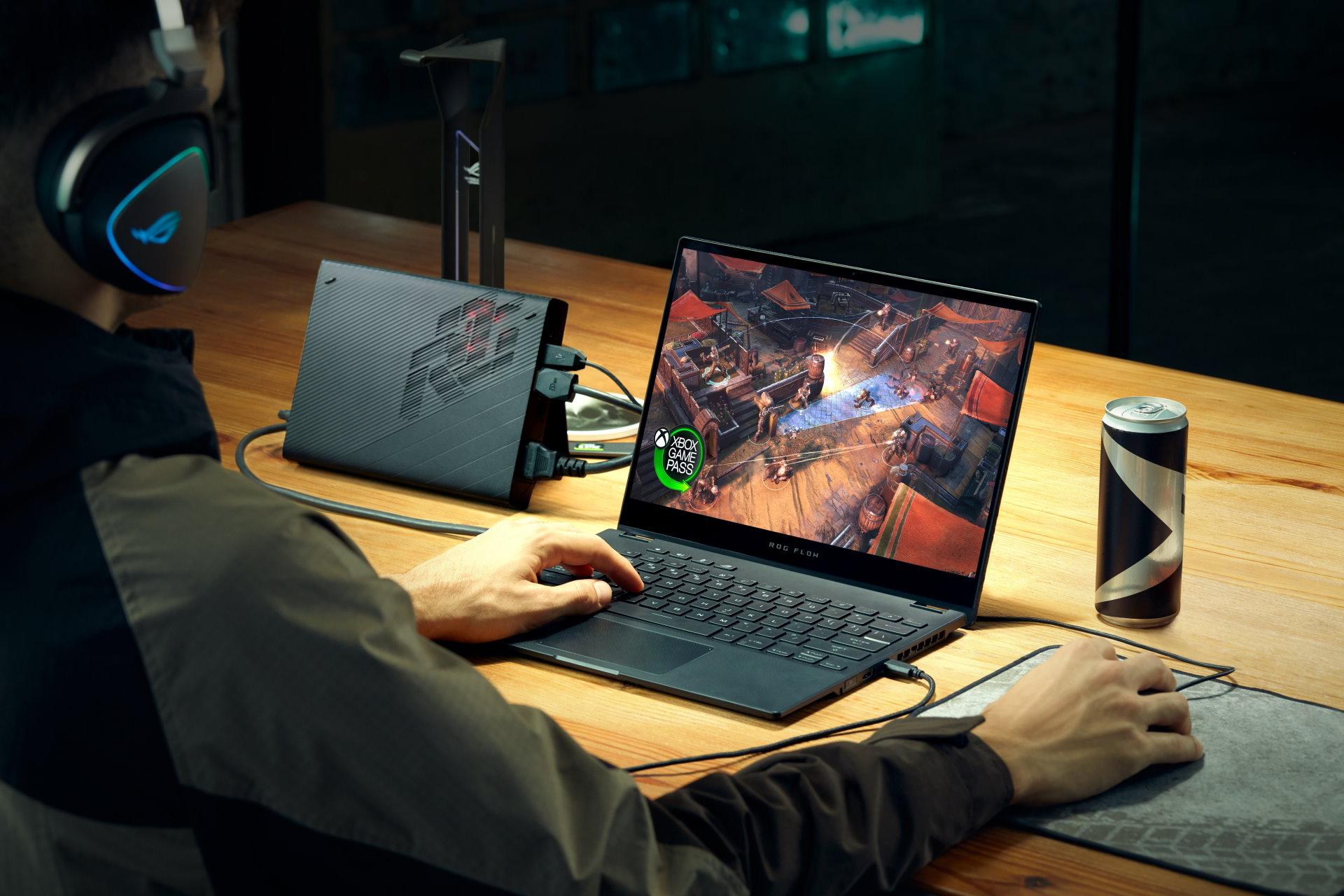 Asus ROG Flow X13 : la claque du CES 2021 est un 3-en-1, ultraportable, tablette et PC de jeu