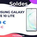 Samsung Galaxy Note 10 Lite : le smartphone avec stylet le moins cher des soldes