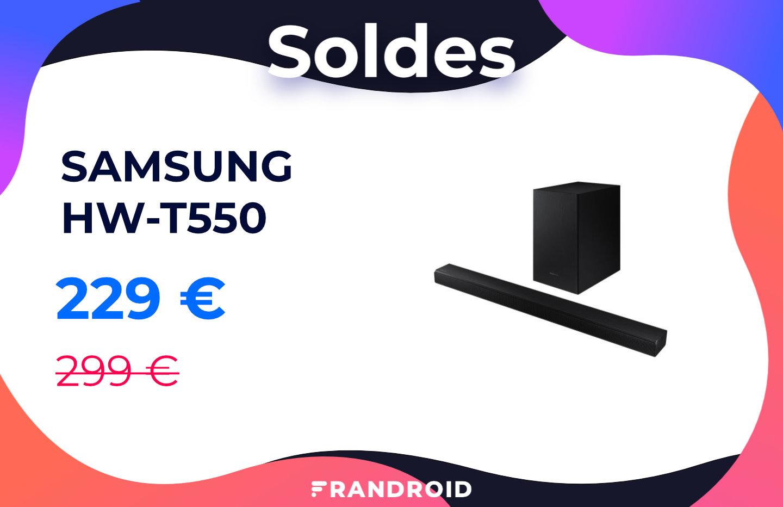 À moins de 230 euros, cette barre de son Samsung a encore baissé de prix
