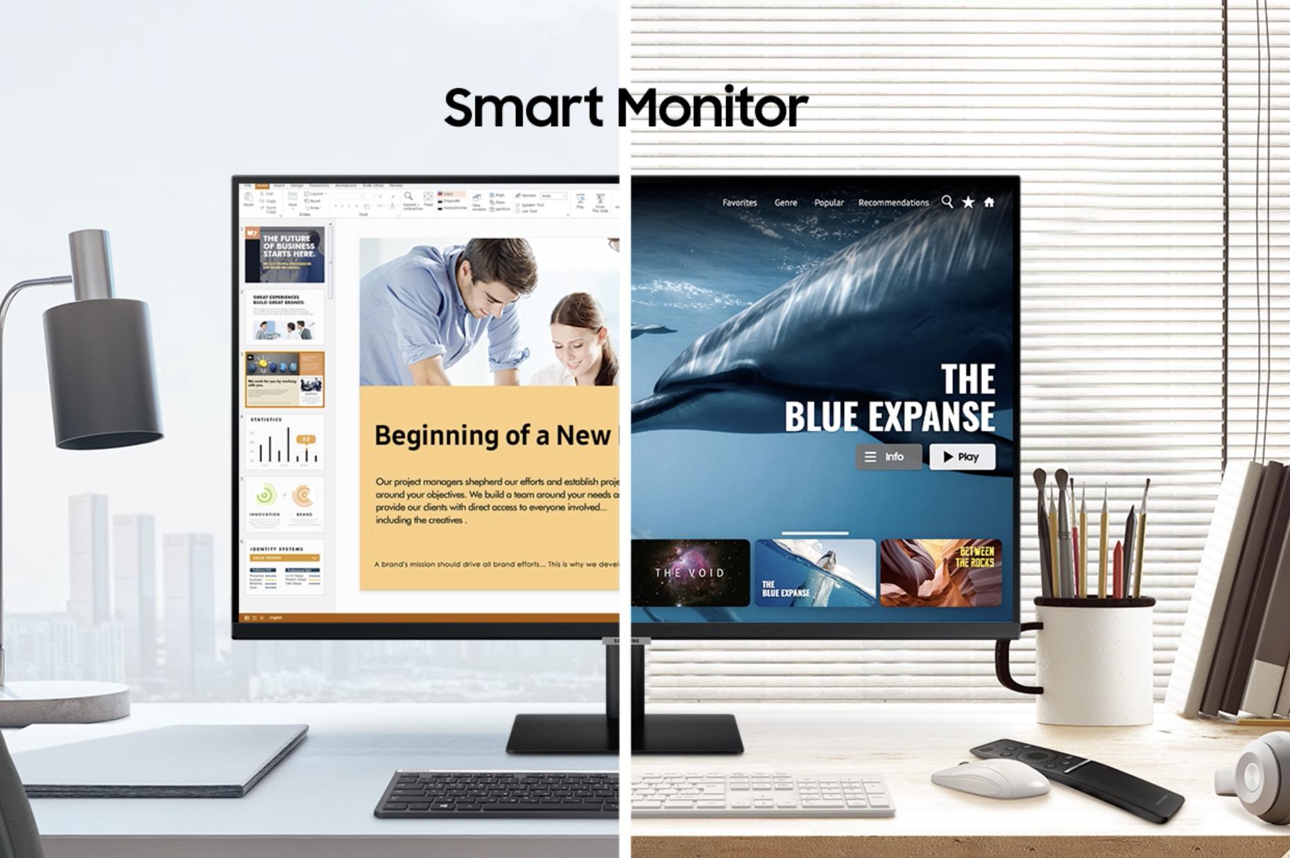 Samsung Smart Monitor: l'écran hybride débarque en France cette année