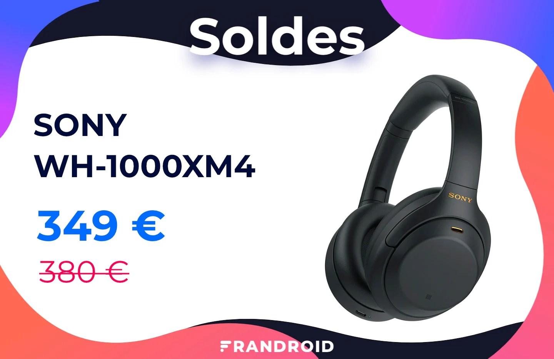 Le casque Sony WH-1000XM4 coûte un peu moins cher pendant les soldes
