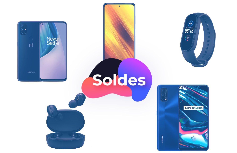 Soldes AliExpress: Realme 7Pro à 226euros, OnePlusN10 5G à 214euros et Mi Band5 à 28euros
