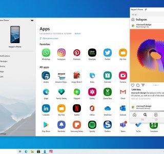 Microsoft : Votre Téléphone peut maintenant lancer plusieurs applications à la fois