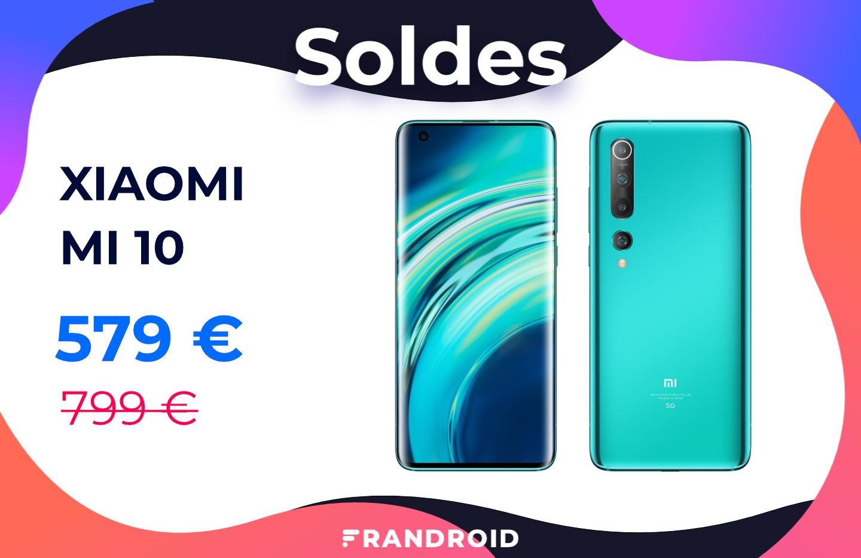 Le Xiaomi Mi 10 est enfin à un prix acceptable grâce aux soldes 2021
