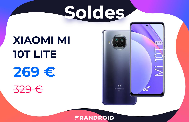 Seulement 269 € pour le Xiaomi Mi 10T Lite 5G pendant les soldes 2021