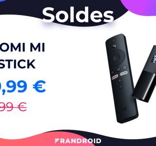 Le prix du Xiaomi Mi TV Stick est à nouveau réduit pour les soldes d'hiver