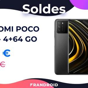 Le Xiaomi Poco M3 doté d'une batterie de 6000 mAh chute à 114 € pour les soldes