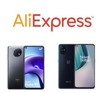 Poco X3 à 211€, Redmi Note 9T à 188 € : découvrez les smartphones en promo chez AliExpress