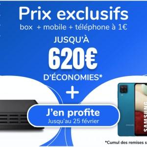 Cette vente privée Fibre/ADSL + mobile permet de réaliser de belles économies