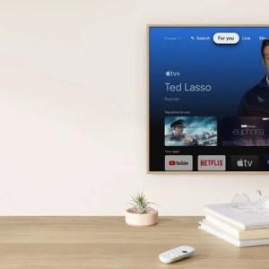 Apple TV+ est désormais disponible sur le nouveau Google Chromecast