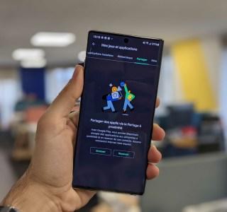 Google Play Store : partagez vos applications sans connexion Internet grâce à Nearby Share