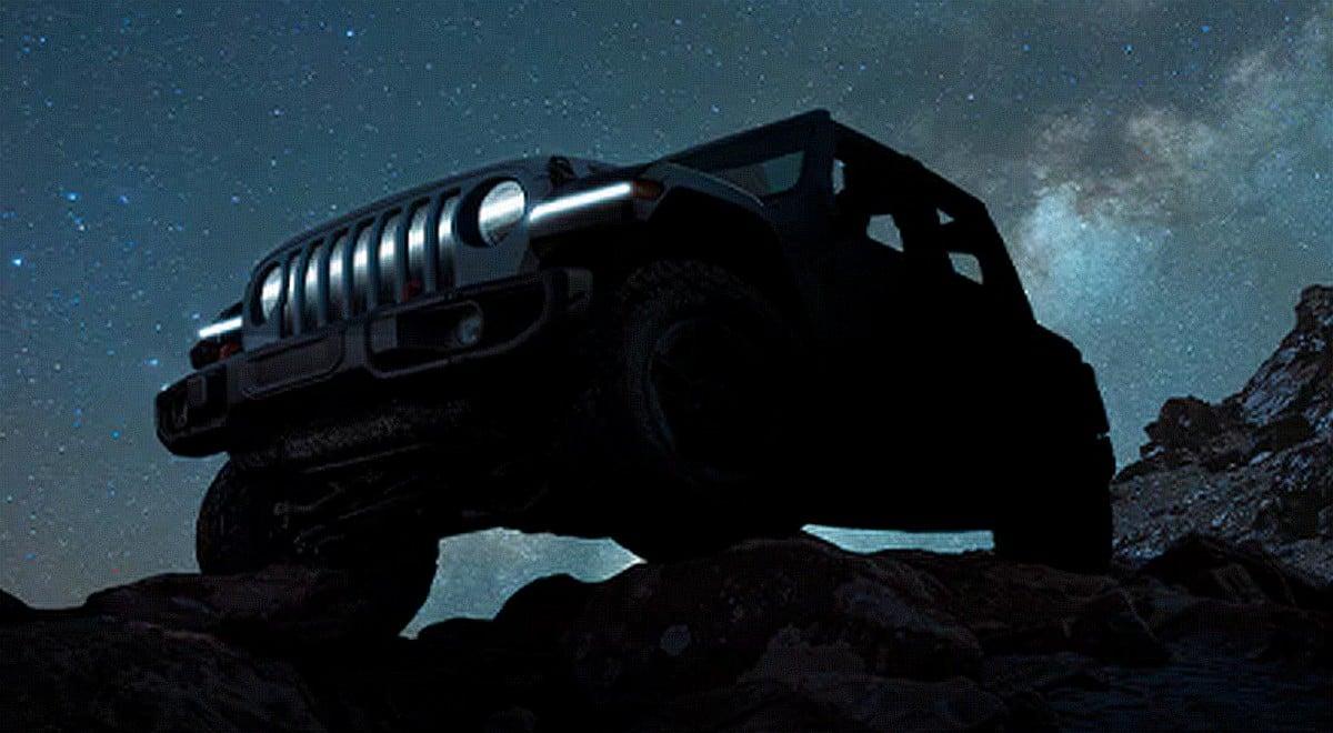 Jeep se lance dans le 100% électrique avec une Wrangler probablement très connectée