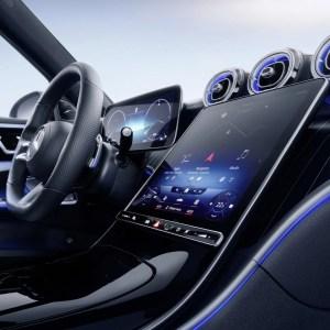 Nouvelle Mercedes Classe C: voici le nouveau MBUX2 conçu avec Nvidia