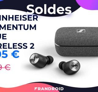 Pour les soldes, les Sennheiser Momentum True Wireless 2 passent à 205 €