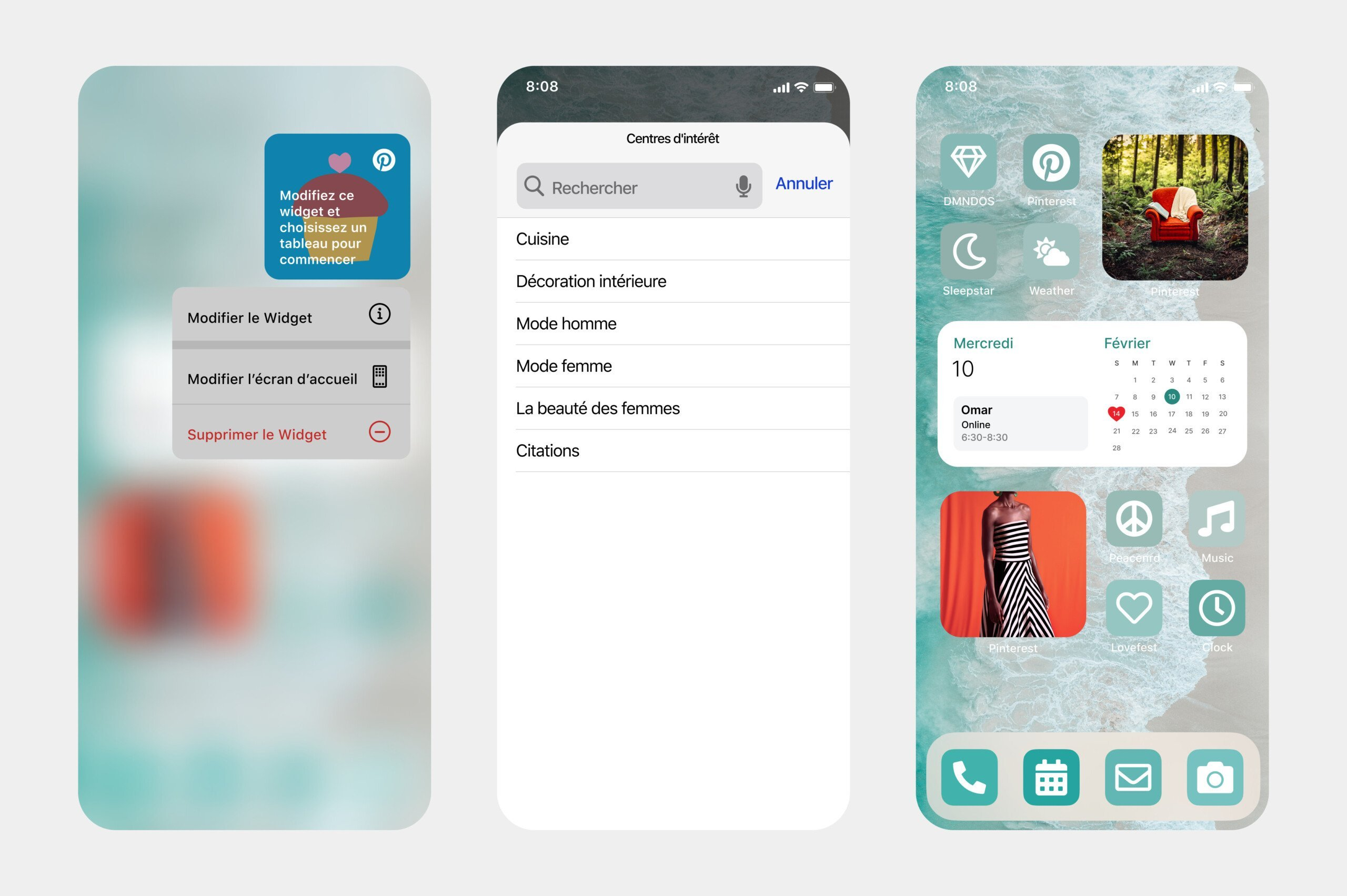 Interests : Pinterest s'offre un widget iOS 14 qui cible mieux vos envies
