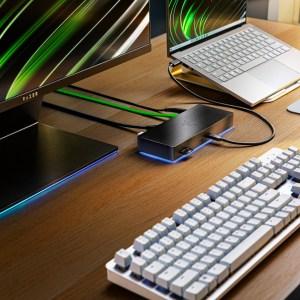 Razer annonce une station Thunderbolt 4 ainsi qu'un support pour PC et Mac