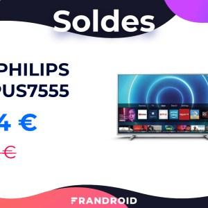 Ce TV Philips 50 pouces vous donne accès à la 4K pour moins de 360 euros