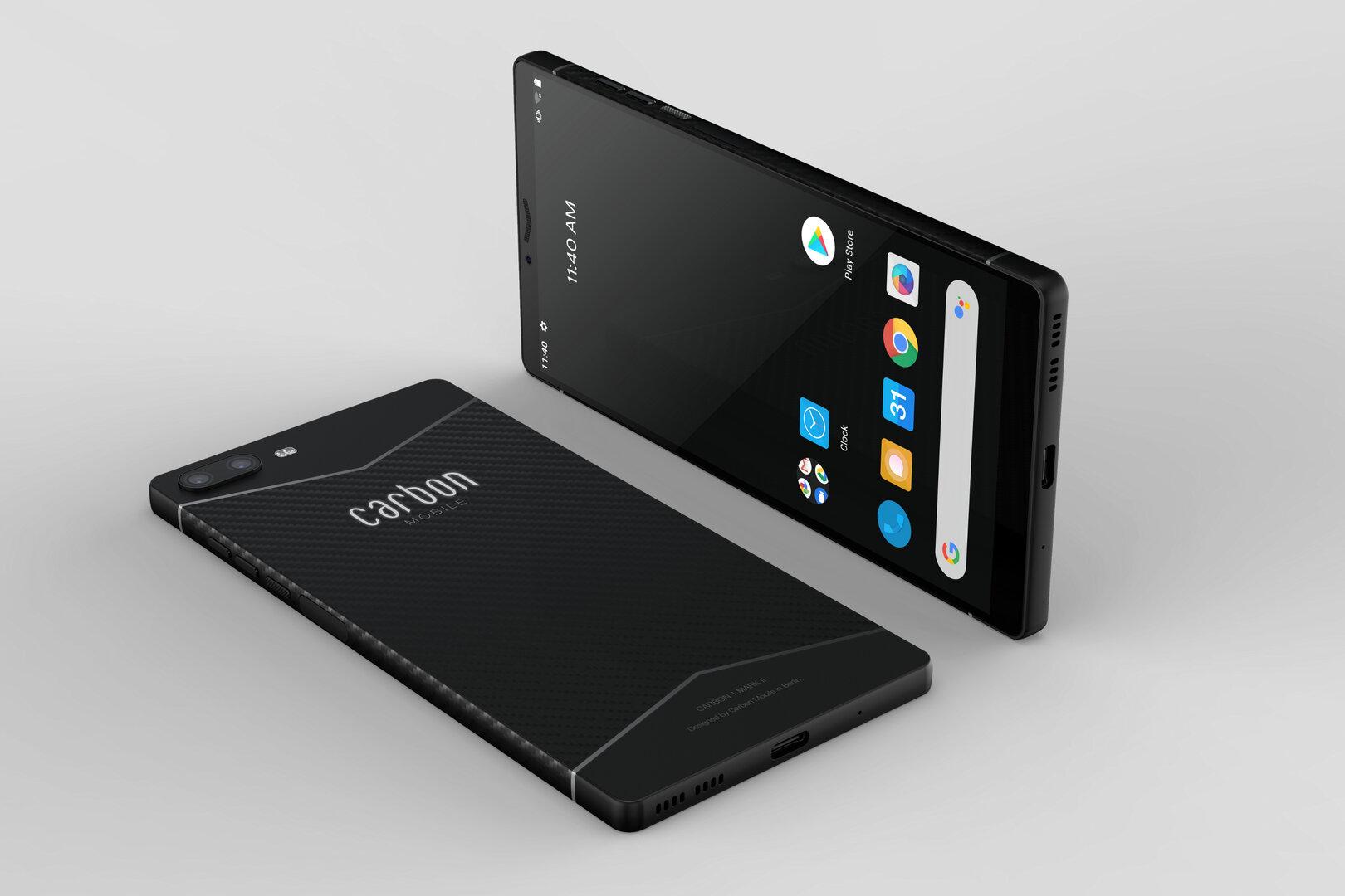 Carbon 1MKII: voici le smartphone allemand conçu en fibre de carbone