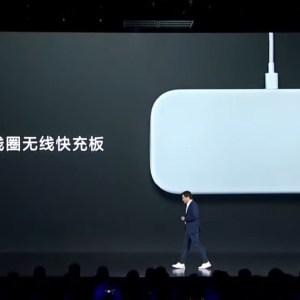 Le chargeur sans fil de Xiaomi charge trois appareils, un bel hommage à l'Apple AirPower