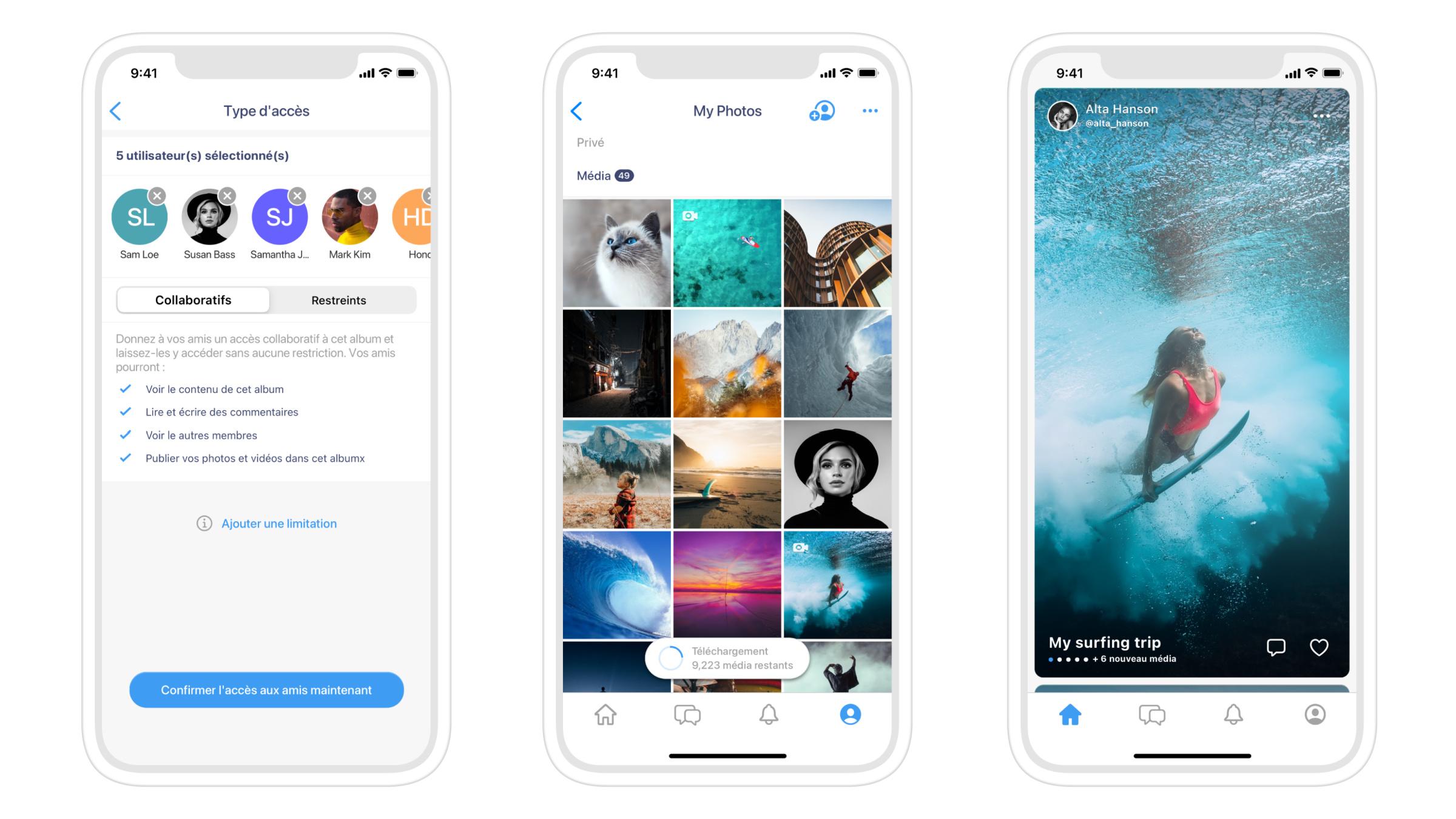 Albums, une app sécurisée à mi-chemin entre Google Photos et Instagram
