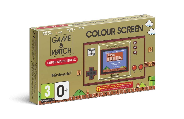 Bon plan pour les nostalgiques : la Game & Watch Super Mario Bros est à 38 €