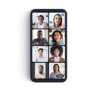 Google Meet sur smartphone : la vue en mosaïque pour voir tous les participants arrive enfin