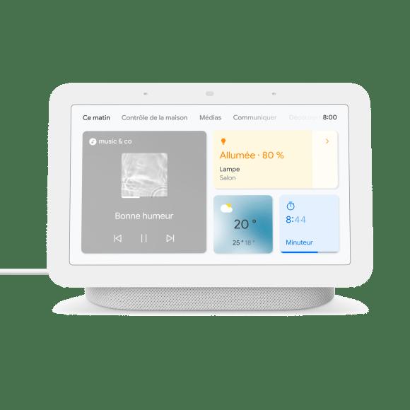 Google Nest Hub 2egénération (2021)