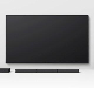 Sony dévoile la barre de son 5.1HT-S40R avec surround sans fil