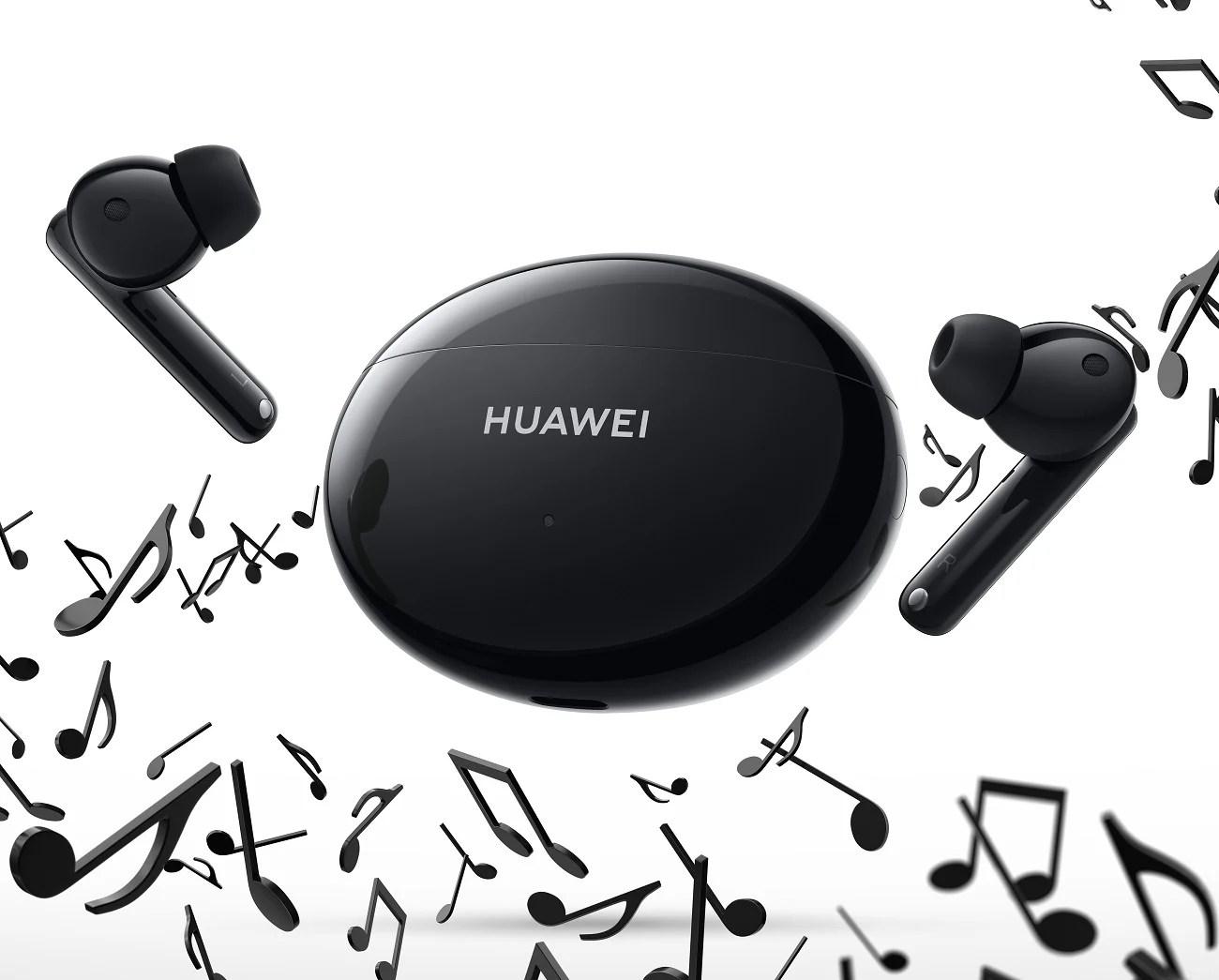 FreeBuds 4i : Huawei lance des écouteurs sans fil accessibles avec réduction de bruit