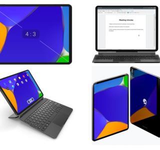 JingPad A1 : une tablette Linux aux airs d'iPad Pro avec un écran OLED