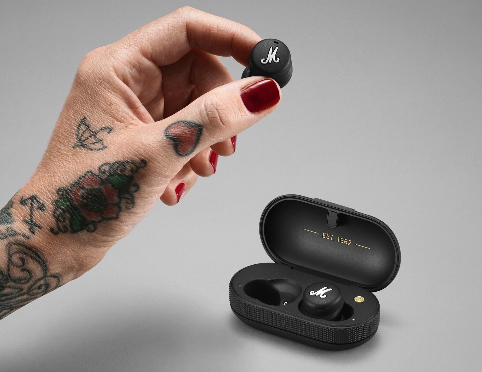 Marshall Mode II : le spécialiste des amplis s'attaque au marché des écouteurs sans fil