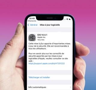 Mise à jour de sécurité importante : iOS 14.4.1 pour iPhone et iPad, ne tardez pas à la télécharger
