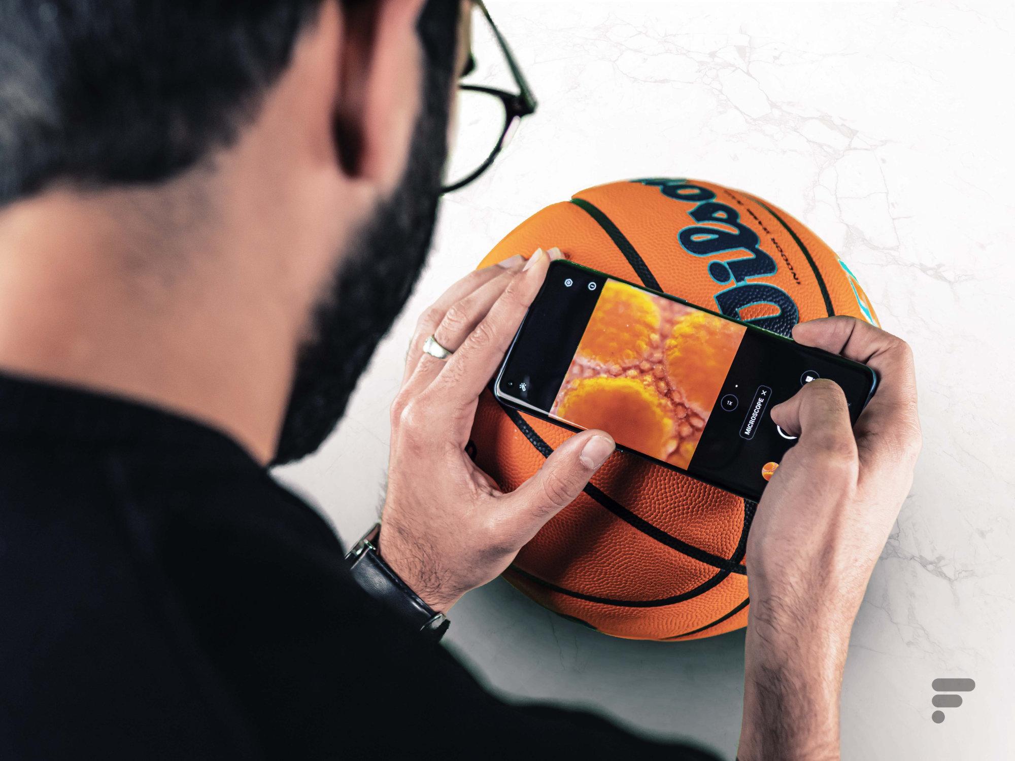 Le microscope sur smartphone: vous êtes une majorité à apprécier à cette fonctionnalité