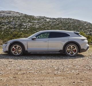 Porsche Taycan Cross Turismo officialisée : «have a break» électrique