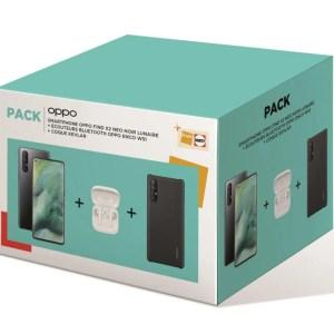 Ce pack à moins de 400 € inclut le Oppo Find X2 Neo, des écouteurs et une coque