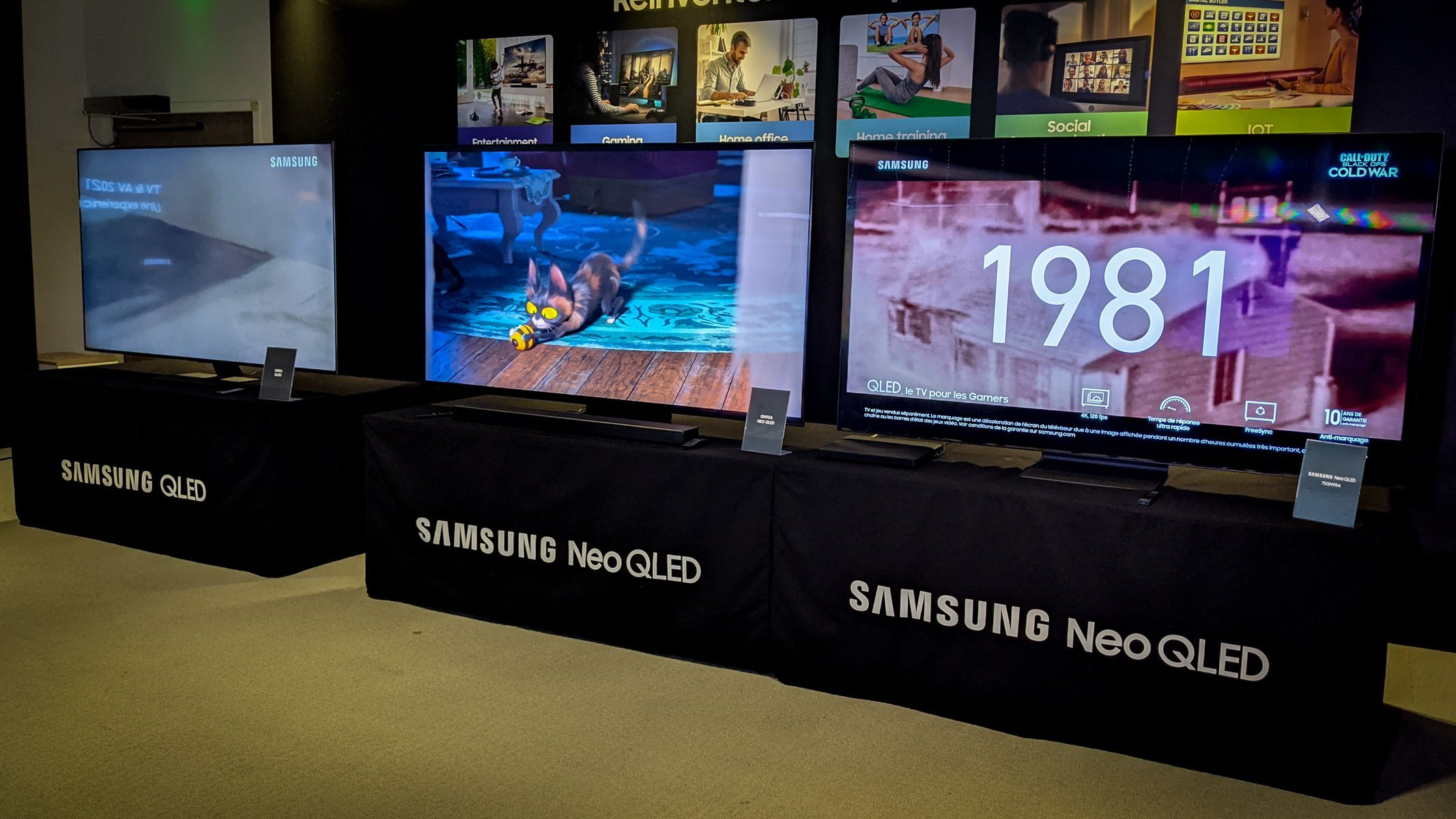 Samsung Neo QLED: nos premières impressions sur les télés Mini LED 4K et 8K