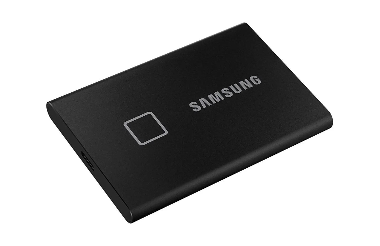 Samsung T7 Touch 500 Go : le SSD avec capteur d'empreintes chute à 97 €