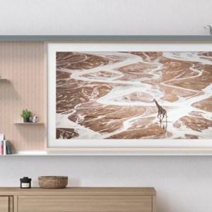 Le téléviseur Samsung The Frame (2021) est également un meuble