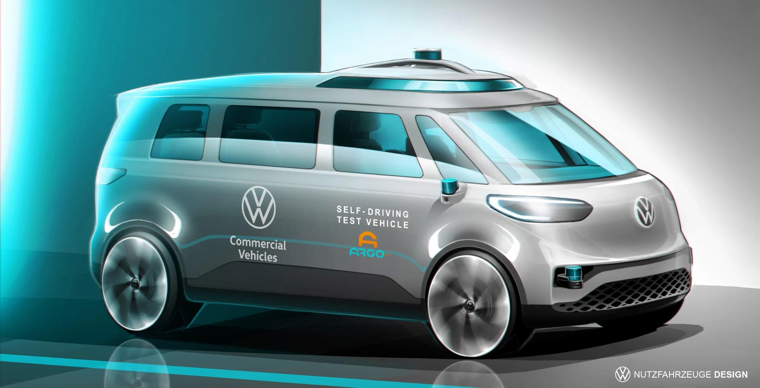 Volkswagen ID.Buzz: le Combi électrique veut devenir 100% autonome d'ici 2025