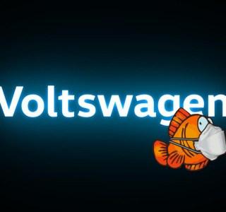 Volkswagen qui devient Voltwagen, c'était finalement une mauvaise blague de poisson d'avril