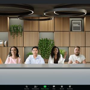 Zoom : comment intégrer tous les participants dans une salle virtuelle plus fun ?