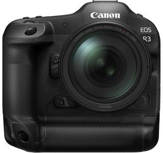 Canon EOSR3: un appareil photo qui se contrôle par les yeux