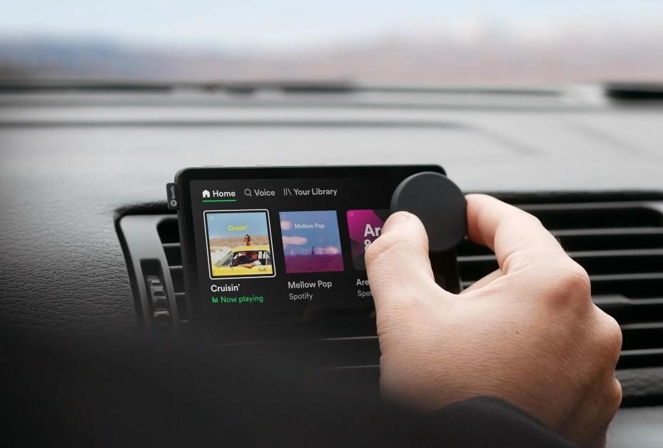 Spotify Car Thing : un écran tactile pour apporter le streaming musical dans votre voiture
